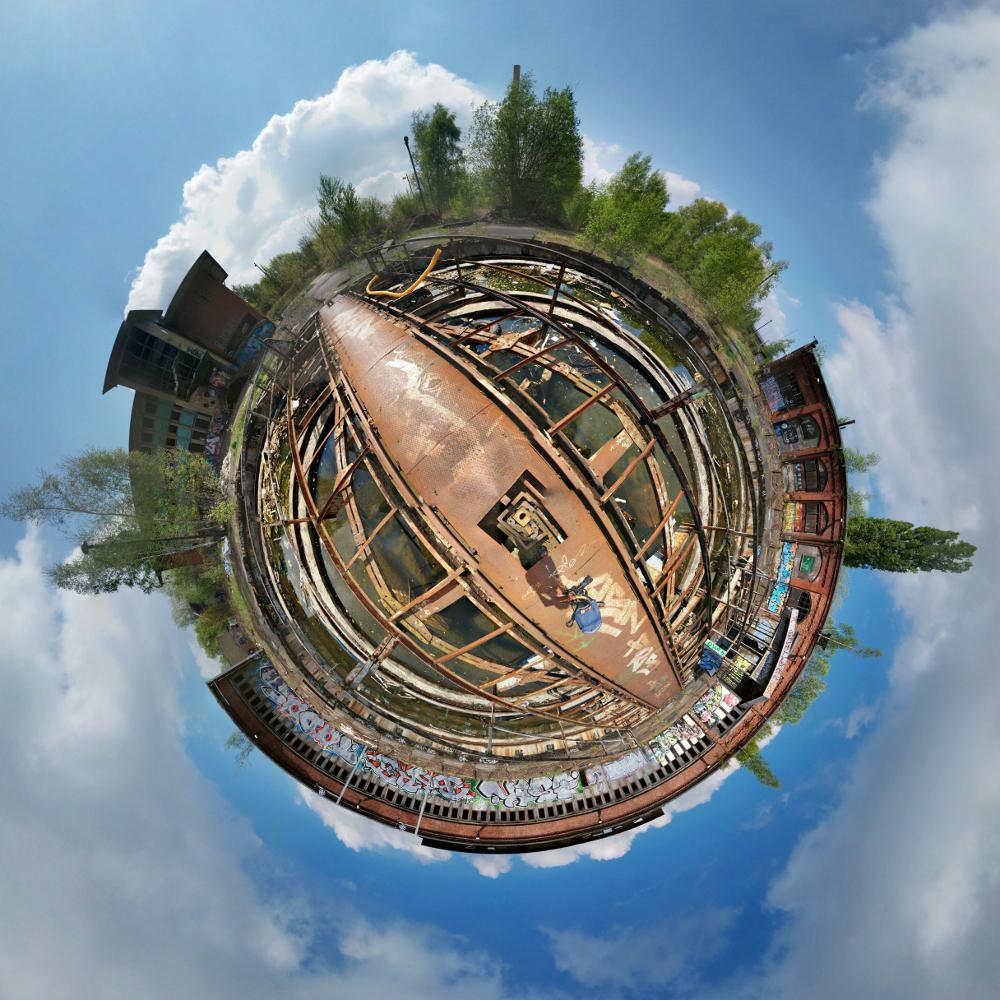 Lost Place | Rundlokschuppen Pankow