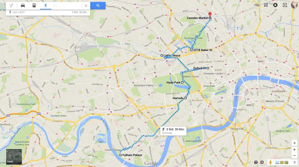 LondonplanungSamstag