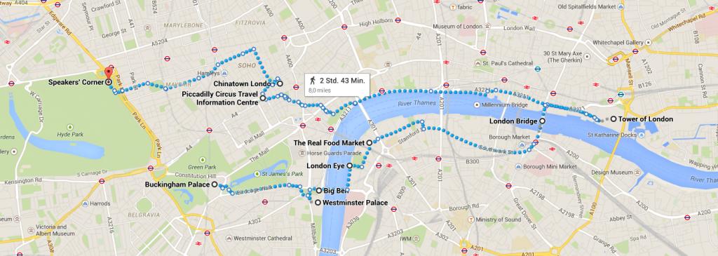 LondonplanungSightseeing