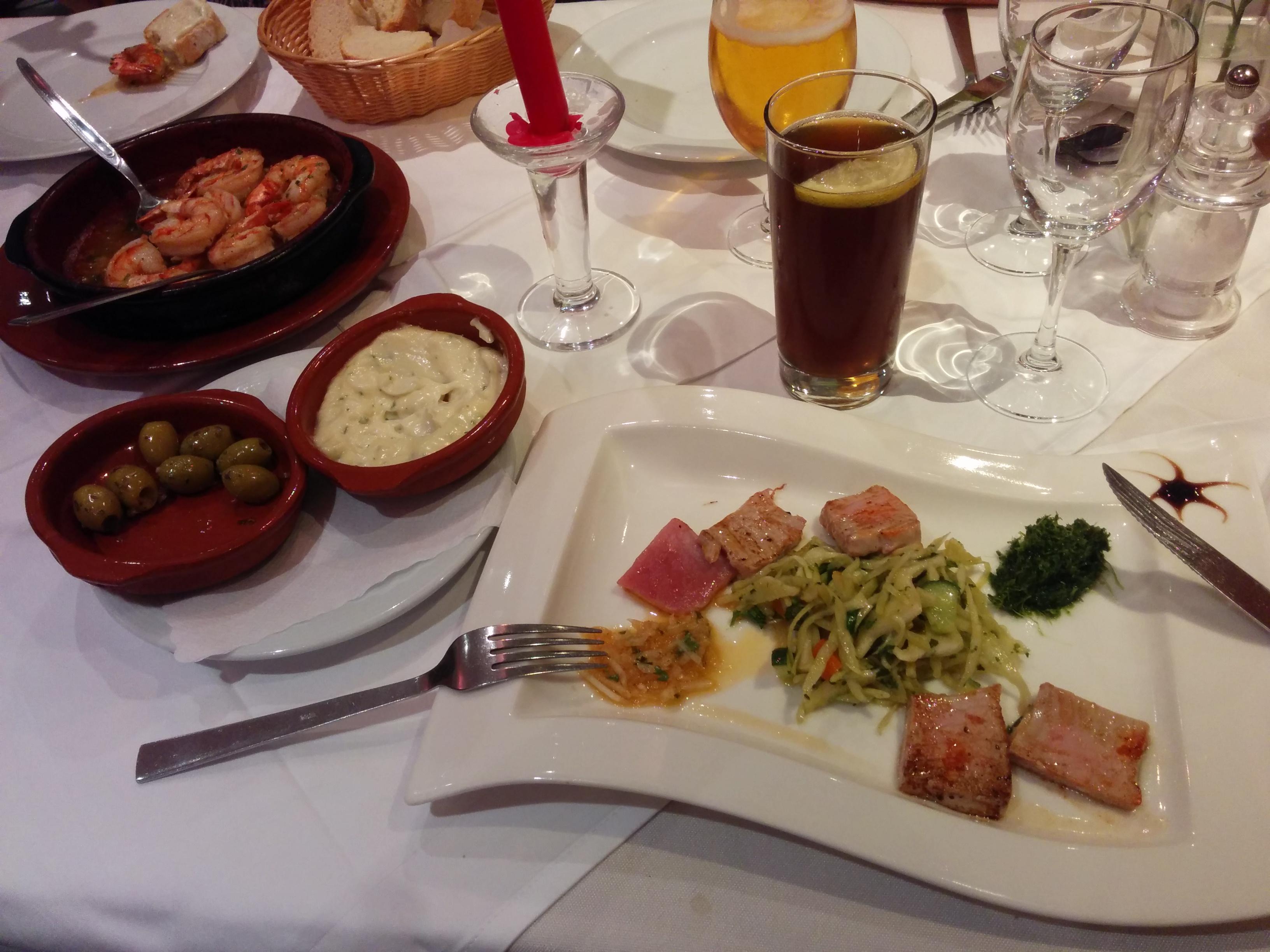 Kulinarisches Spektakel im Caramba Especial